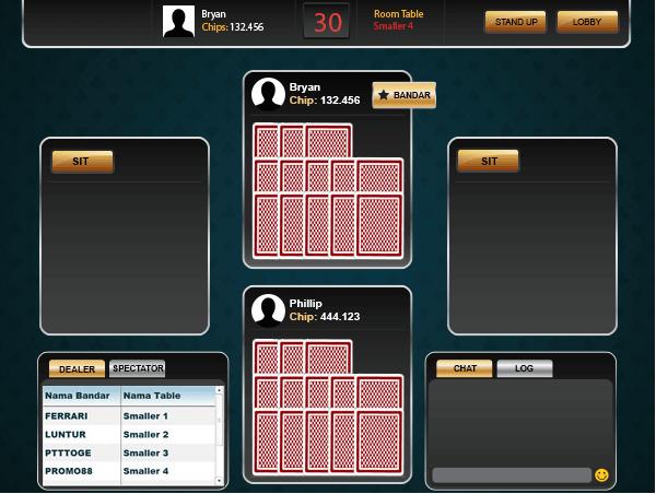 cmcard-3, cara bermain capsa susun online
